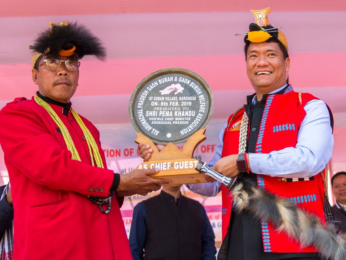 Arunachal CM announces slew of measures for 'gaon burhas'