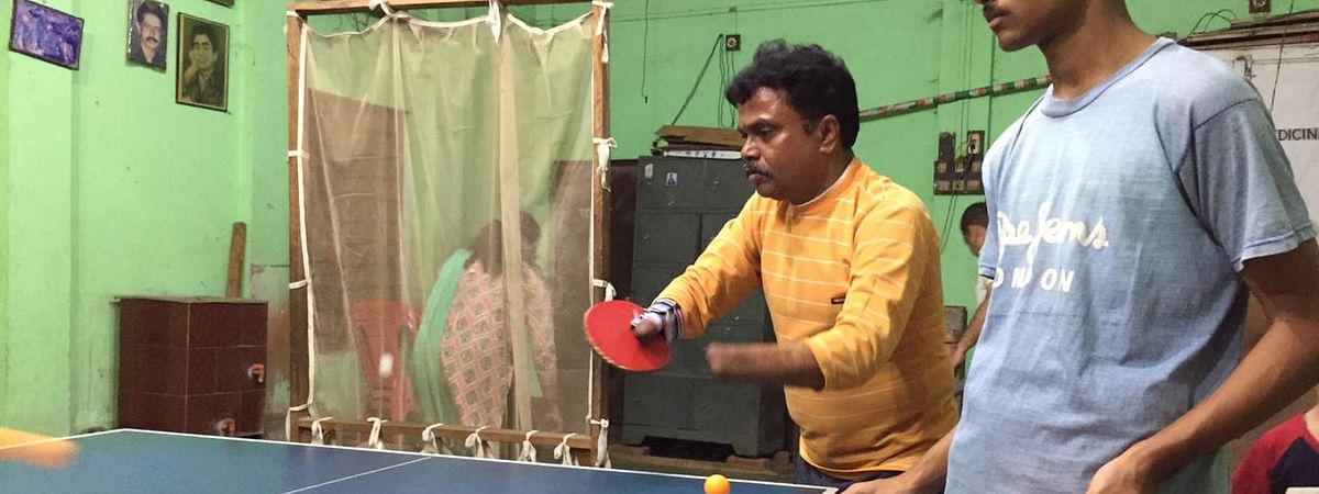 Kajal Dey has been playing table tennis for over two decades now