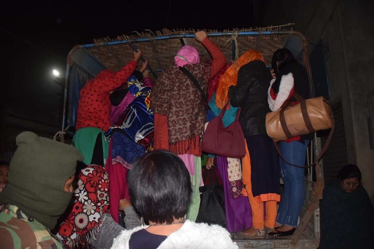 21 women from Nepal were rescued last year suspected to be human trafficking in Manipur
