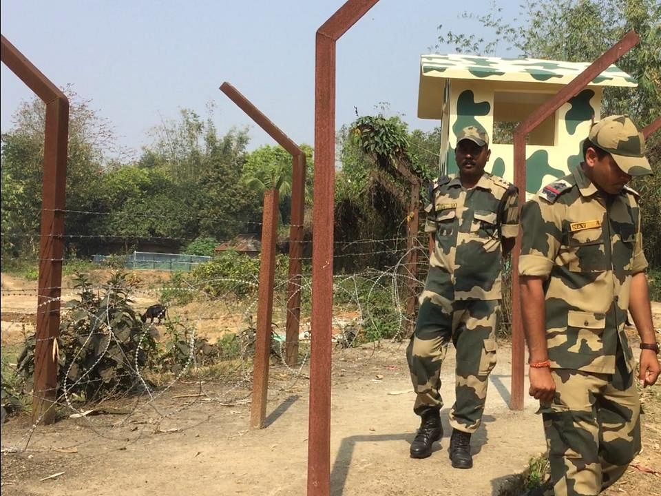 'Centre regularly monitoring India-Bangladesh border fencing work'