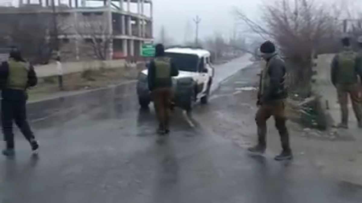 The encounter startedat 12.50 am on Monday at Pinglan in Pulwamaand was led by the Army. CRPF and Jammu and Kashmir police are also part of the operation.