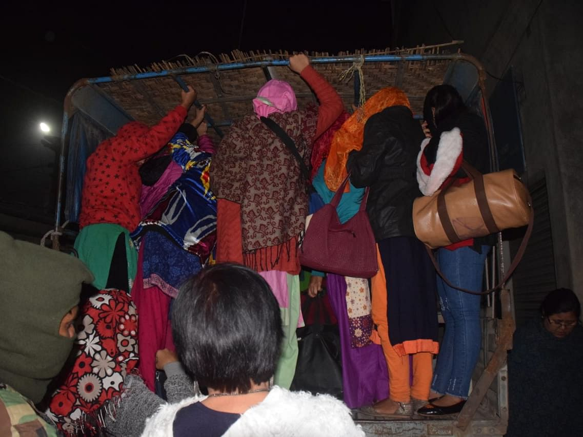Manipur: 107 Nepalese girls rescued from traffickers