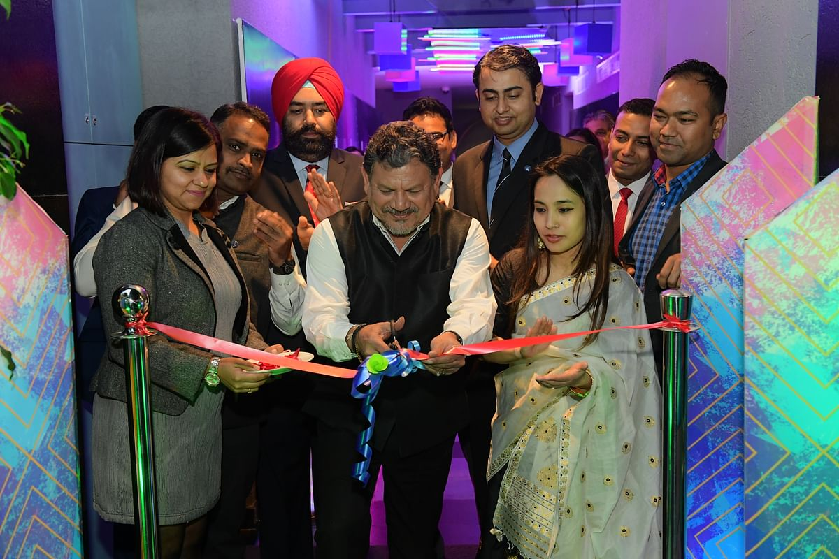 The rooftop pool bar was inaugurated by Akid Zaman