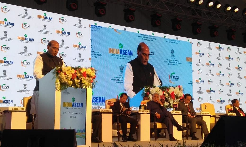 Rajnath Singh for faster extension of trilateral highway