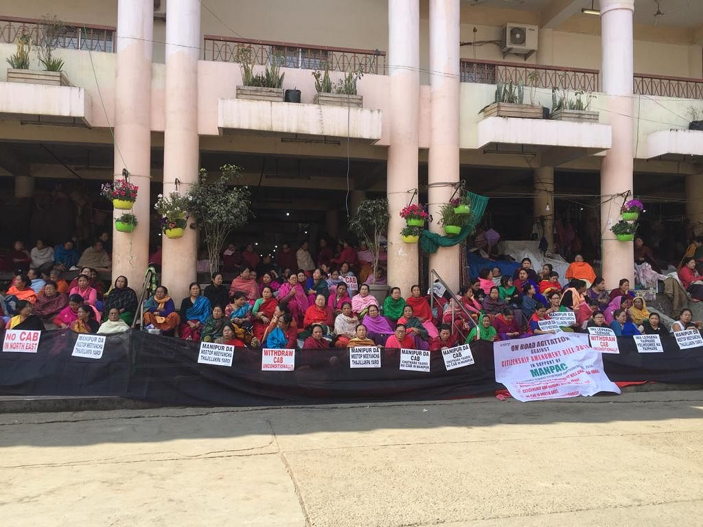 Despite the police action, women vendors said they will continue their peaceful agitation against the contentious Citizenship (Amendment) Bill