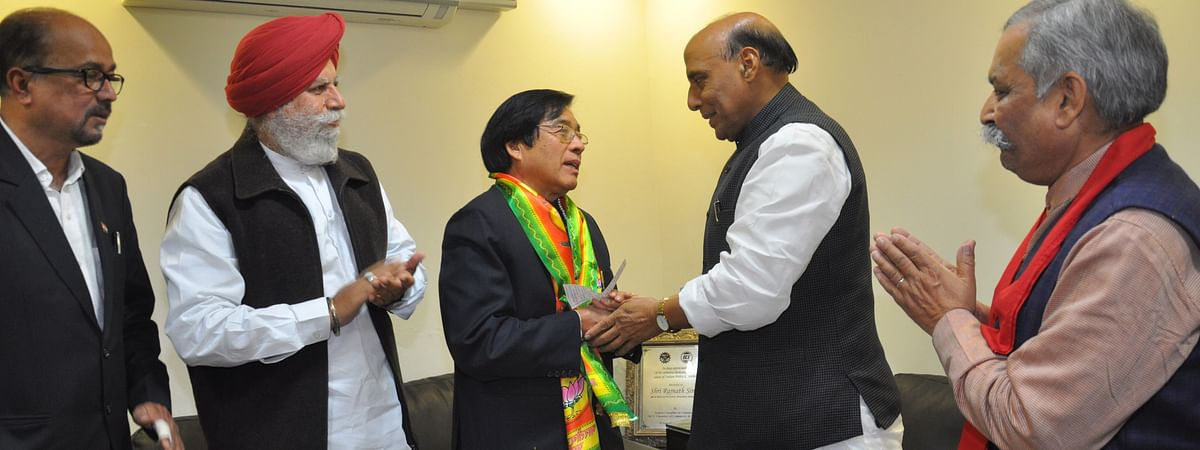 Apang had joined the BJP in 2014.