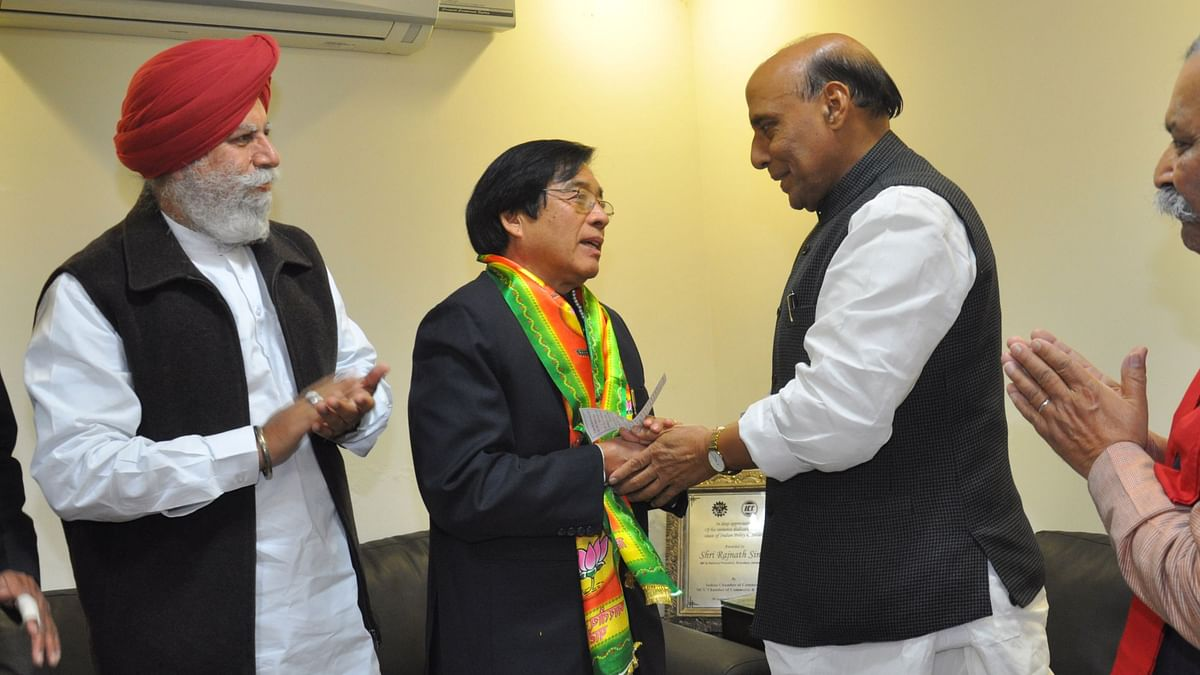 Former Arunachal CM Apang resigns from BJP, joins JD(S)