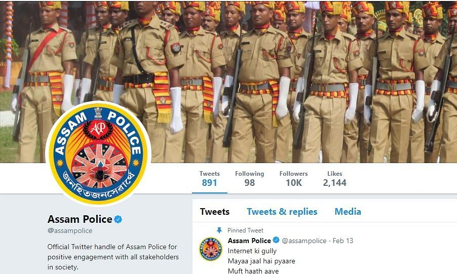 Assam Police's 'gully' tweet on cyber crime is winning hearts