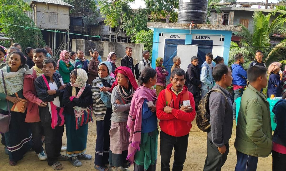 Only 160 of 2,574 Bru applicants eligible for  Mizoram voter list
