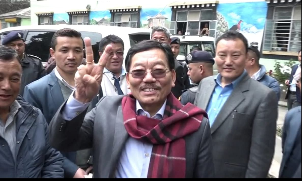 Sikkim: SKM misquoting law, PS Golay can't contest polls, says SDF