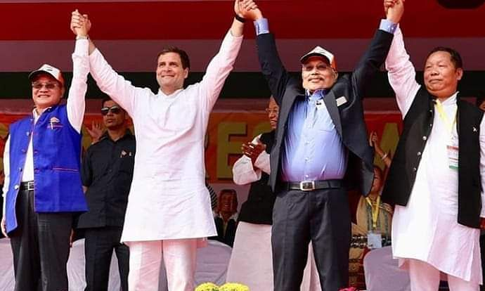 Rahul Gandhi: Cong to revive special status for NE states