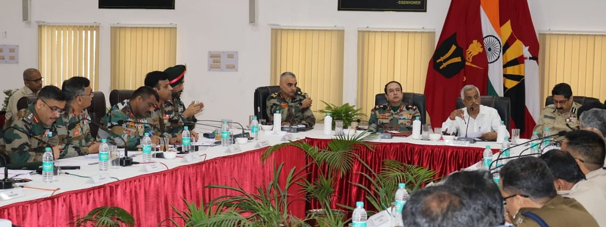 Meeting attended by senior army officials, representatives from civil administration and central armed police forces of Assam, Nagaland and Arunachal Pradesh