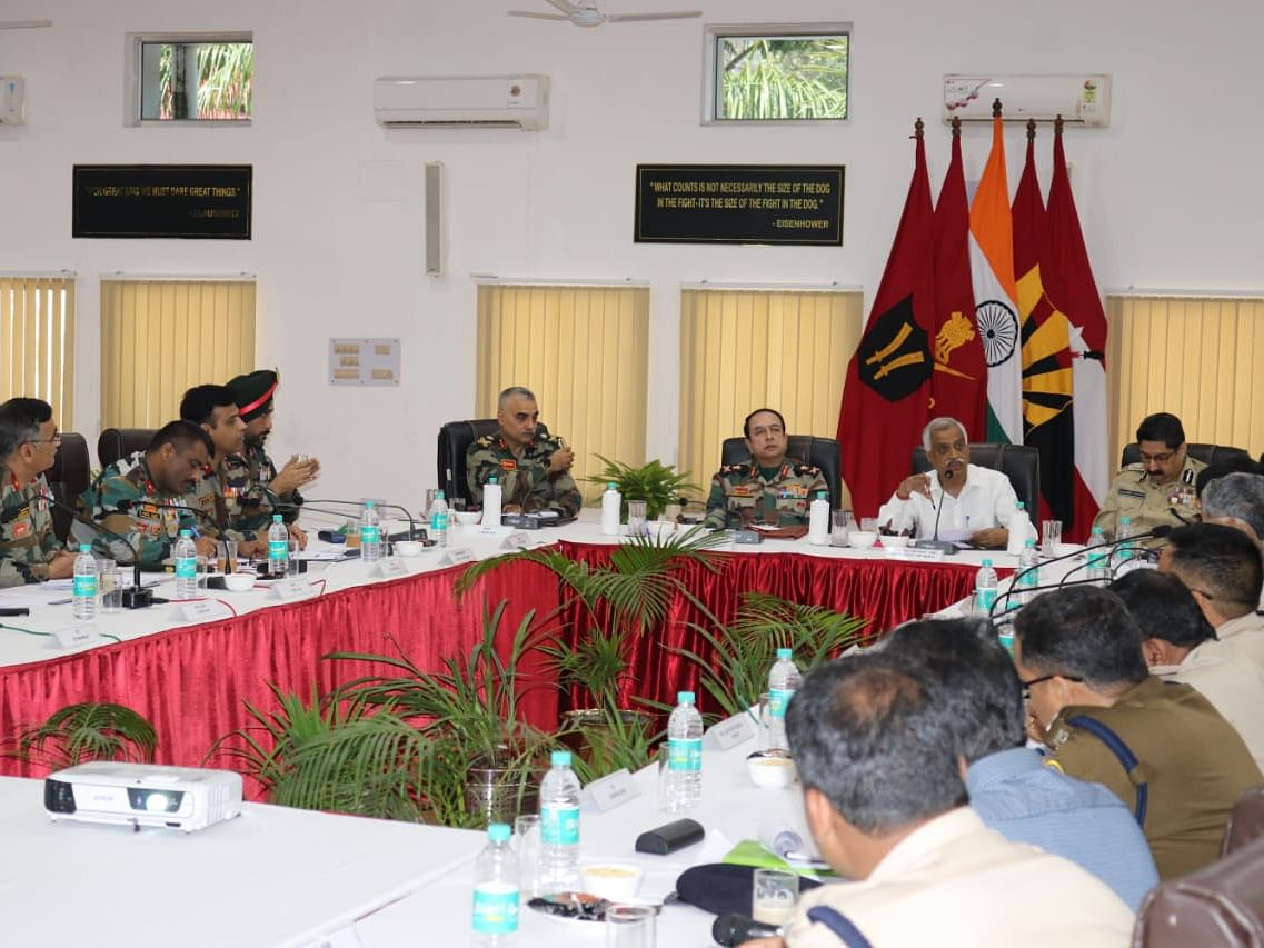 Ahead of polls, high-level security review meet held in Dibrugarh