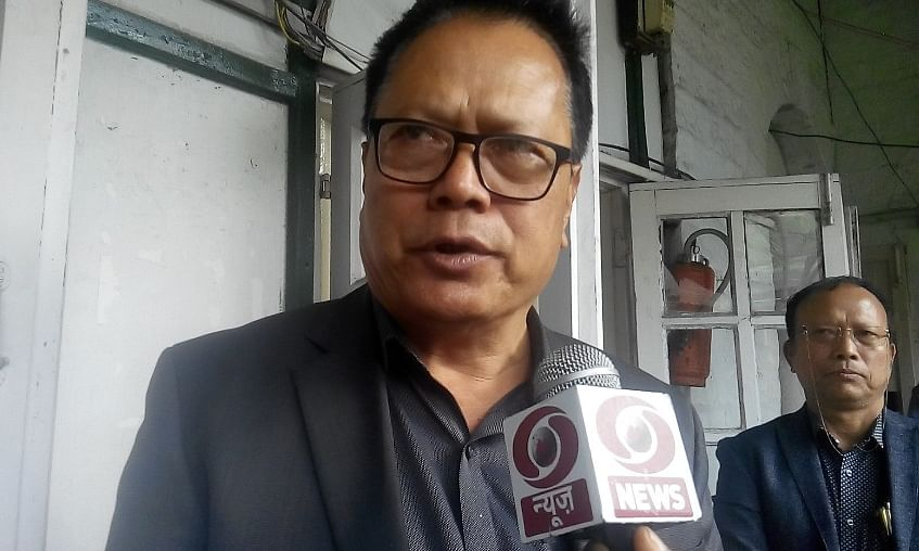 Mizoram: MNF candidate C Lalrosanga files nomination for LS seat