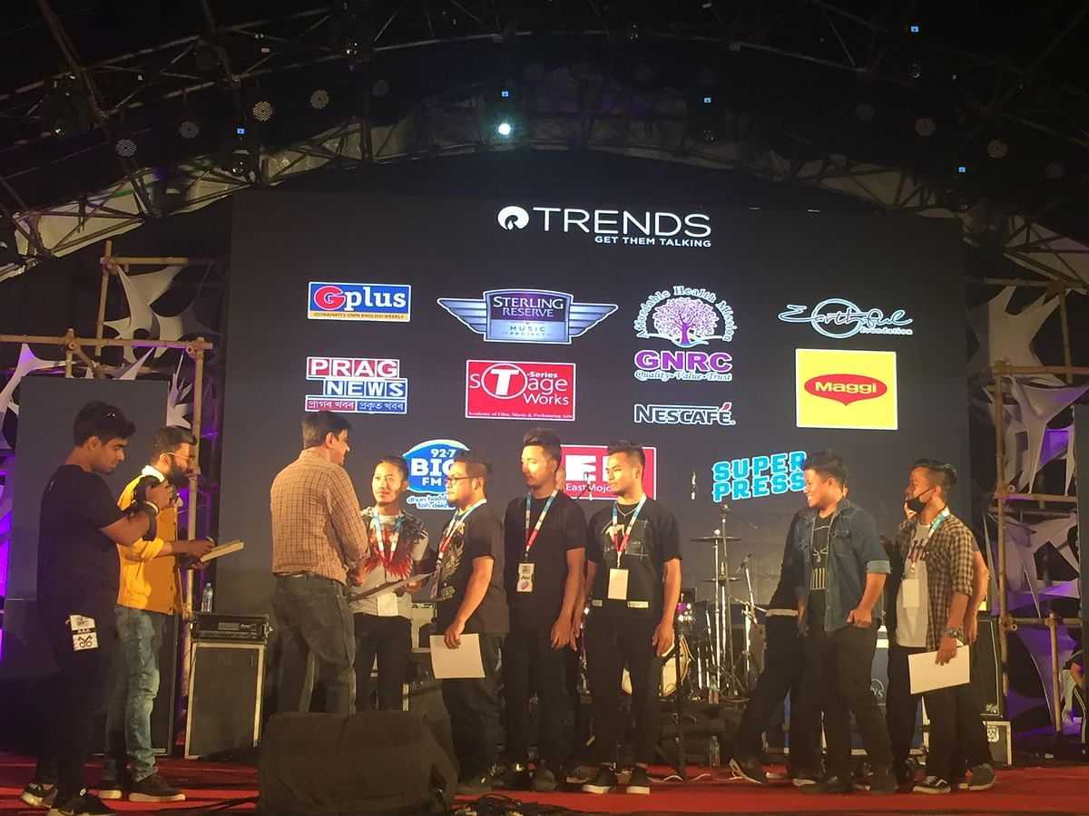 Papersky from Nagaland was crowned the winners of Project Play. The band walked away with a cash prize of Rs 30,000