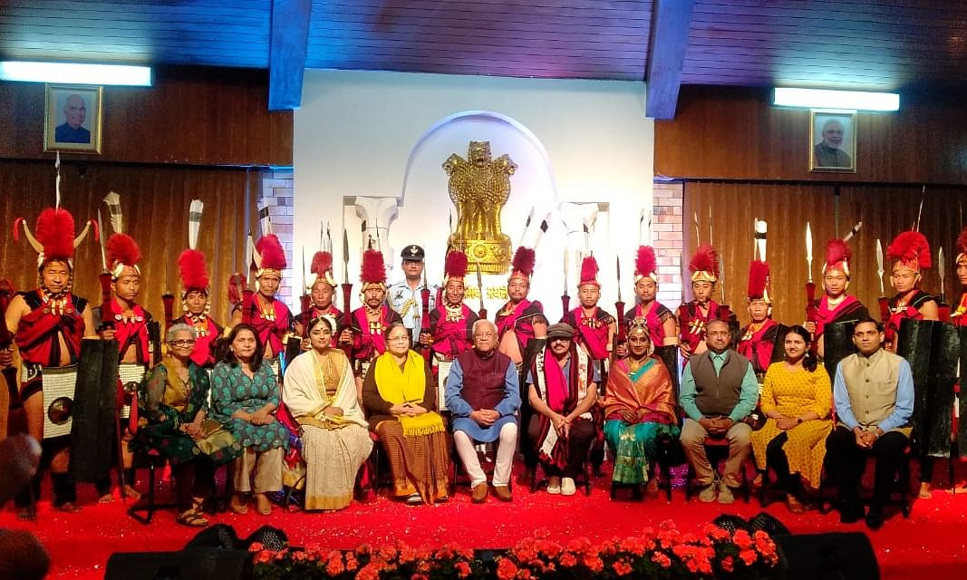 Nagaland governor hosts cultural event for 'national integration'