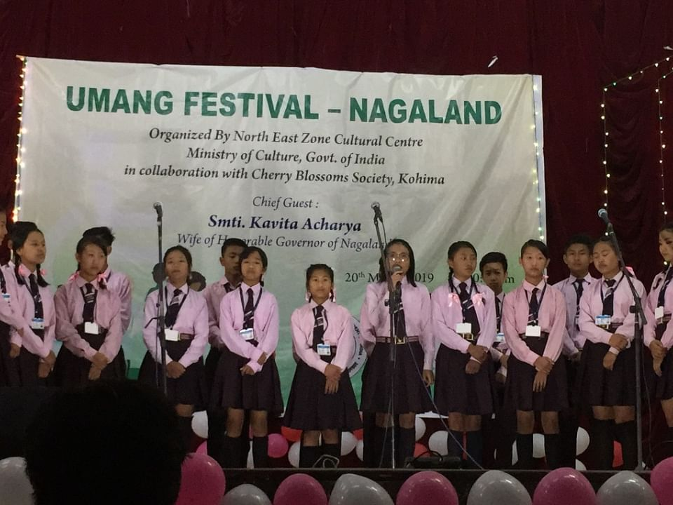 Nagaland: Specially-abled kids perform at 2nd Umang Festival