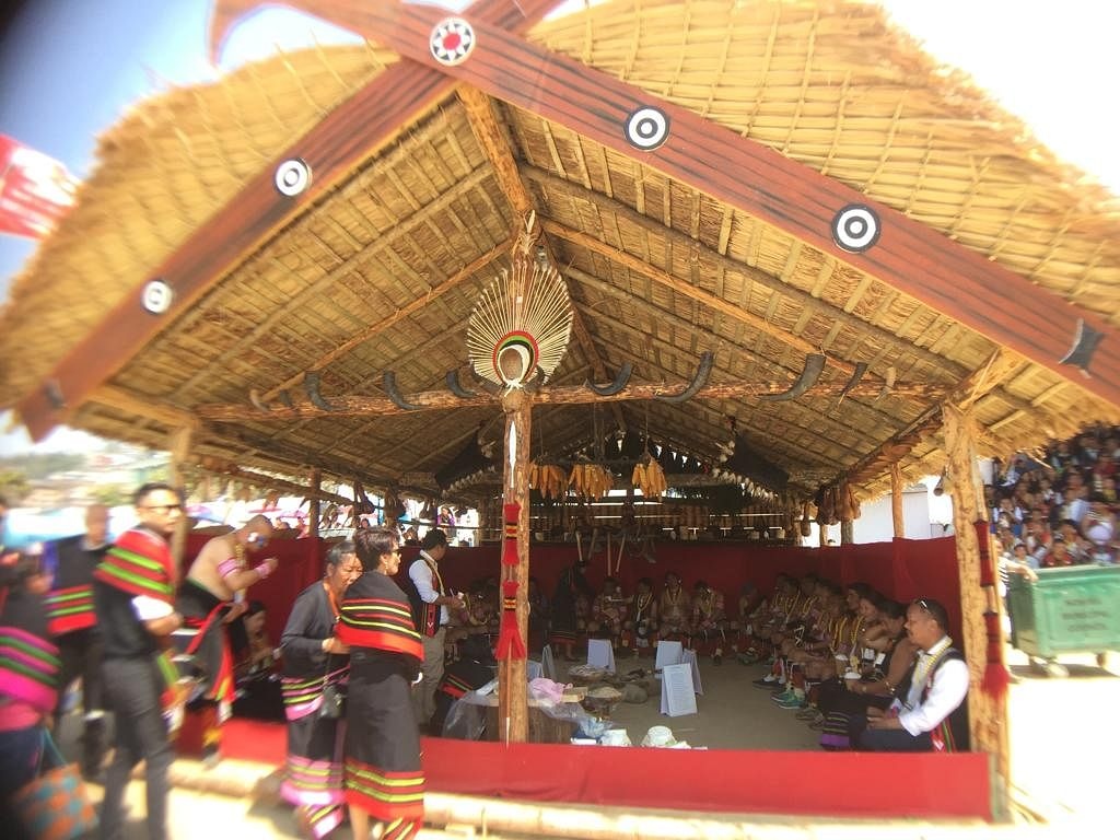 Sekrenyi is the premier festival of the Angami Nagas and is celebrated annually