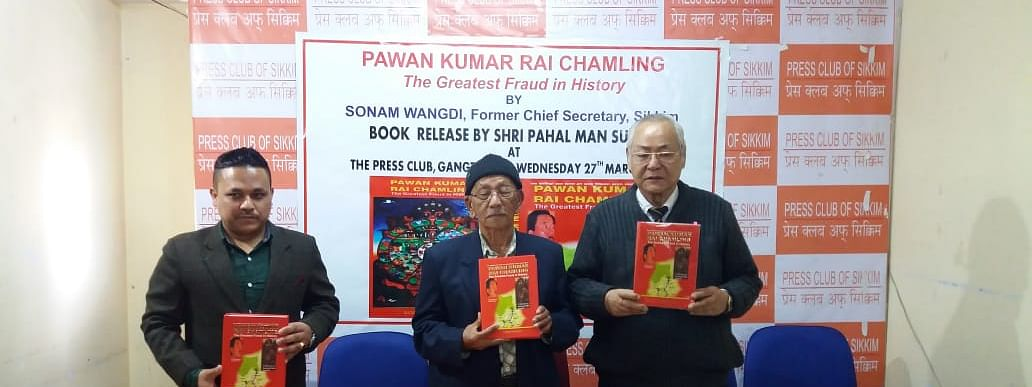 Book release of 'The Greatest Fraud in History' by Sonam Wangdi