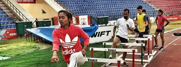 Hima's performance not only shocks her fans, but also raises an alarm bell for the Athletic Federation of India.