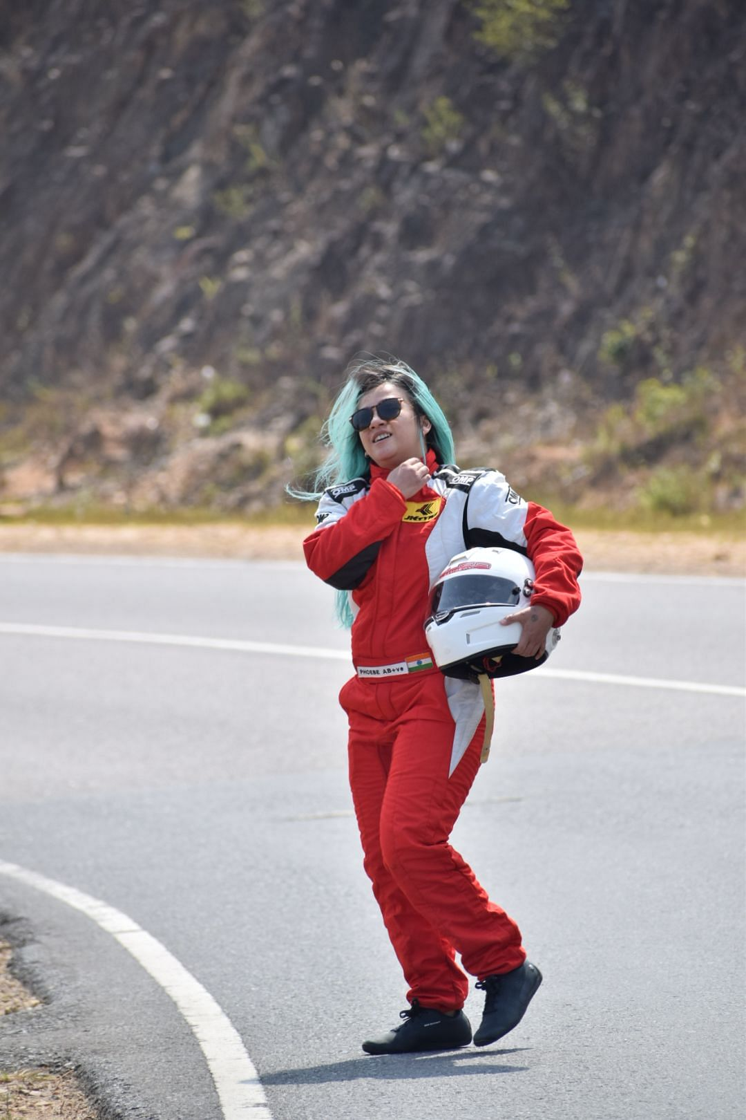 From conquering the dirt tracks as an Indian National Rally Champion, to a Formula 4 driver, Phoebe Dale Nongrum aims for a podium finish now