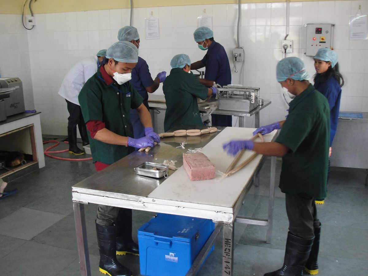 Arohan Foods is uniquely positioned as the first integrated pork processing business in India