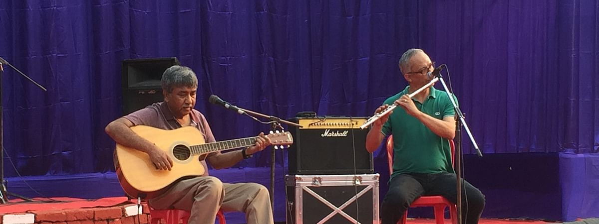 'Goodstock' is an open mic musical gig for new comers as well as seasoned artists.