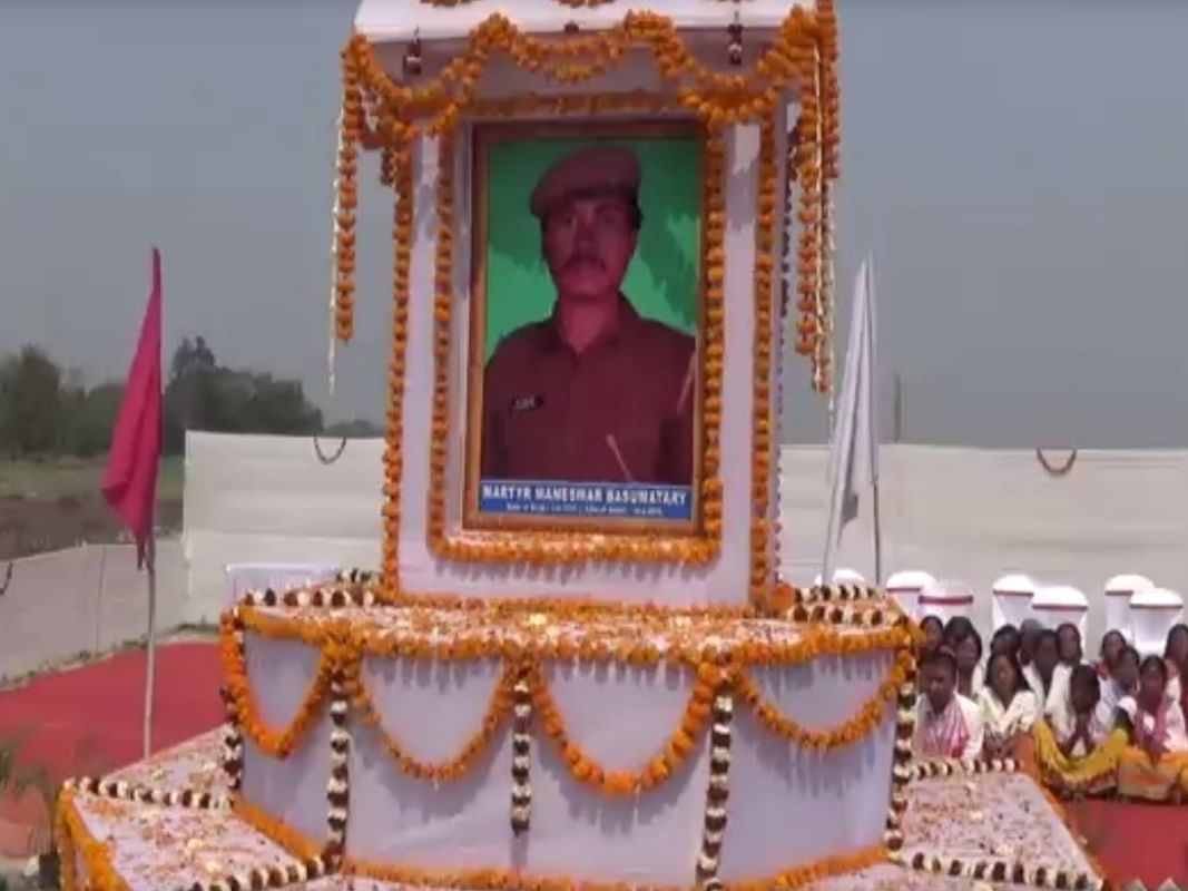Pulwama attack: CRPF pays tribute to martyr Maneswar Basumatary