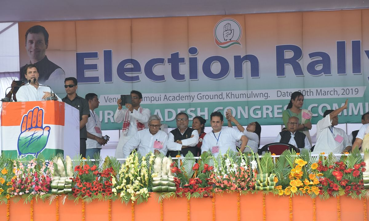 Cong, BJP announce star campaigners for LS polls in Tripura