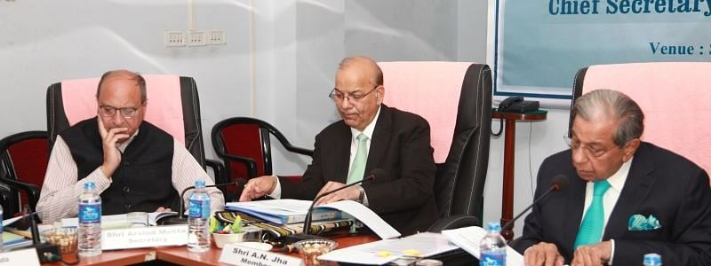 CM Zoramthanga meets with officials of visiting 15th Finance Commission, demands Rs 94,647.33 cr