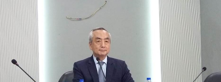 Japanese ambassador to India Kenji Hiramatsu during his maiden visit to Mizoram