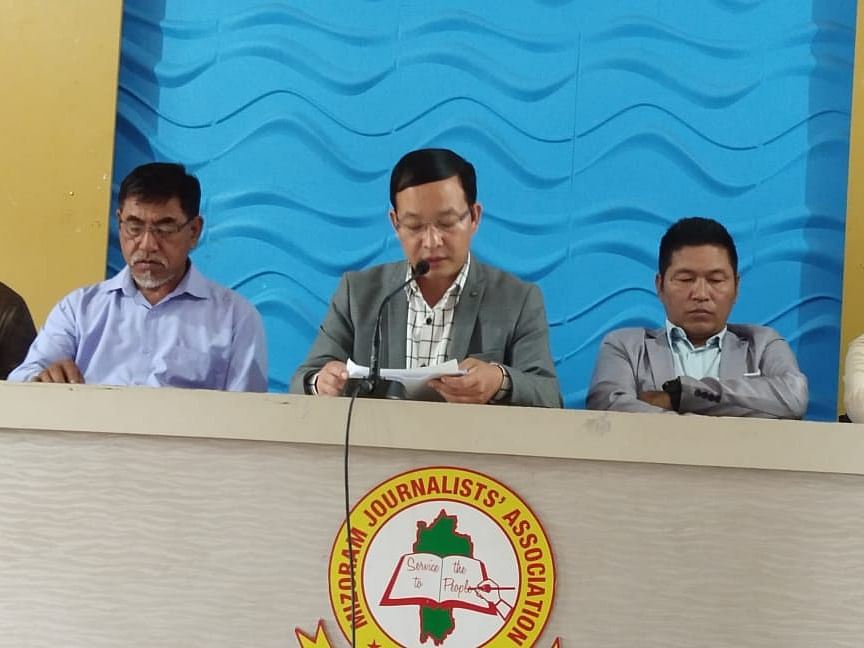 Mizoram: ZPM-Cong combine slams MNF for being part of BJP-led NEDA