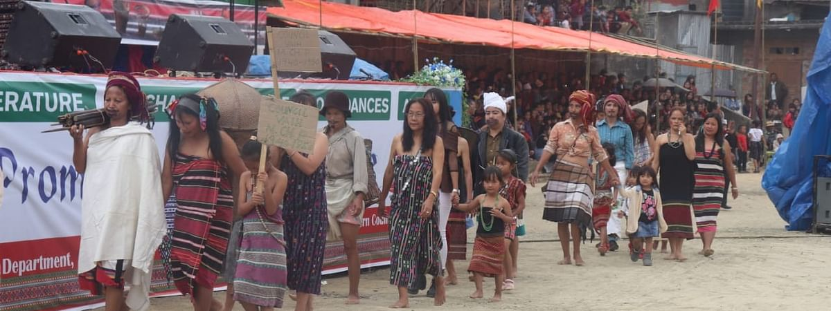Lyuva Khutla is the most important and biggest cultural as well as thanksgiving festival of the Mara tribes of Mizoram