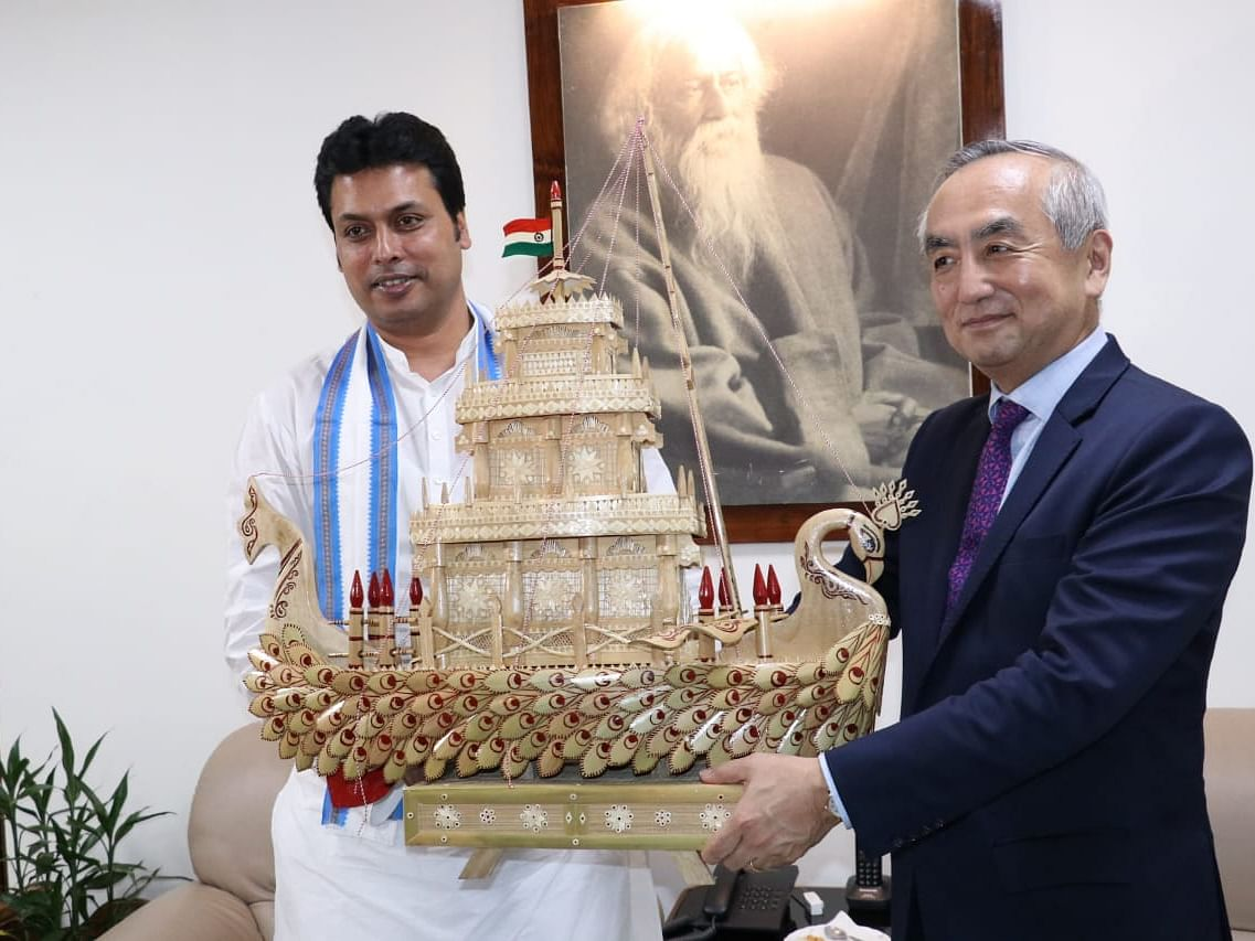 Japanese envoy vows to extend help for development of Tripura