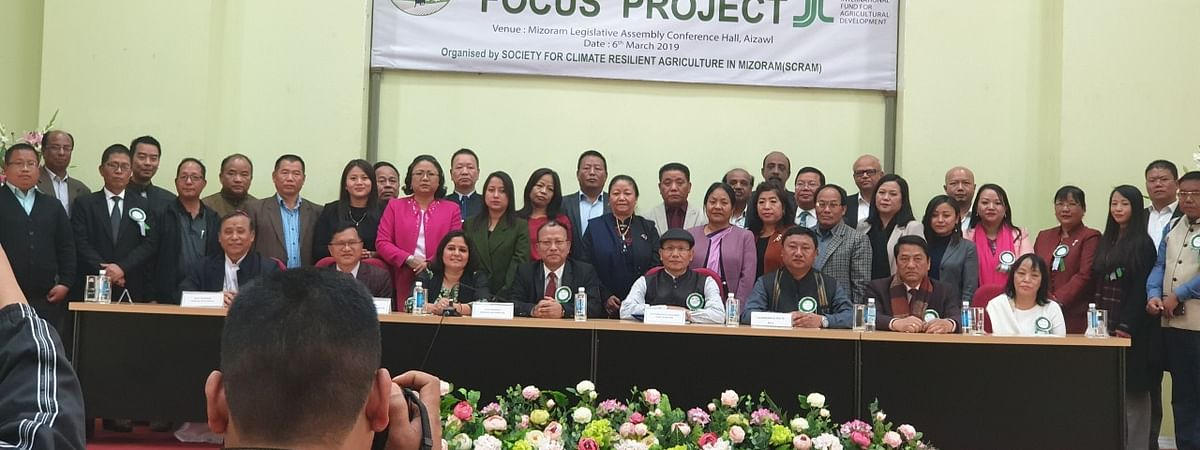 Mizoram agriculture minister C Lalrinsanga on Wednesday launched a Rs 539.272-crore 'Fostering Climate Resilient Upland Farming System In the Northeast' project