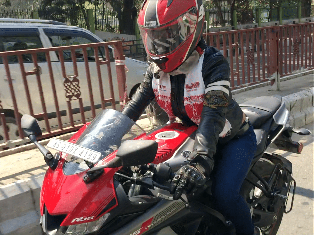Guwahati plays host to 5th 'xBhp Assam Ladies Motorcycle Rally'