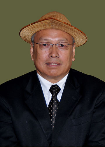 While Kumar Waii (banner image) was the minister for home, urban development & town planning, Jarkar Gamlin (above) was holding the portfolios of tourism, tax and excise and cultural affairs minister in Arunachal Pradesh