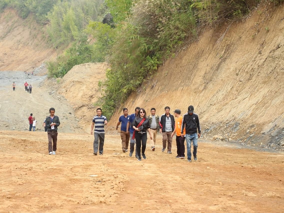Compensation row impedes cross-border road project in Mizoram