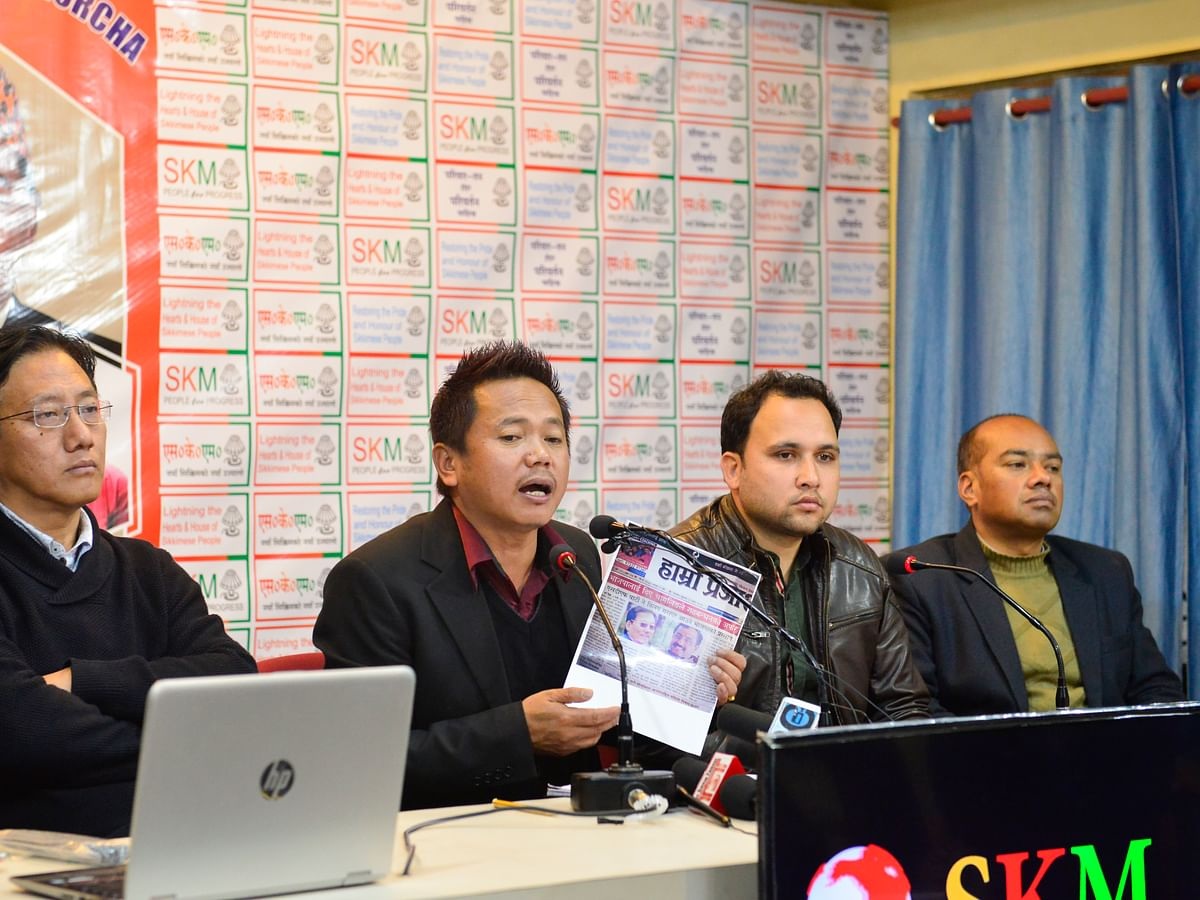 SKM puts forth 8-point CMP for alliance with BJP in Sikkim
