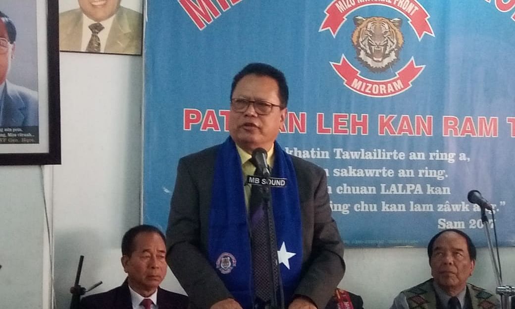 Mizoram: Ex-Doordarshan DG C Lalrosanga joins MNF for LS polls