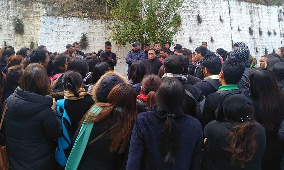 Mizoram Hindi Training College students call off stir