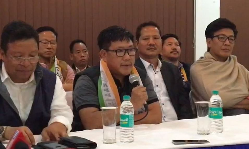 Arunachal: 18 leaders, including 2 senior BJP ministers, join NPP