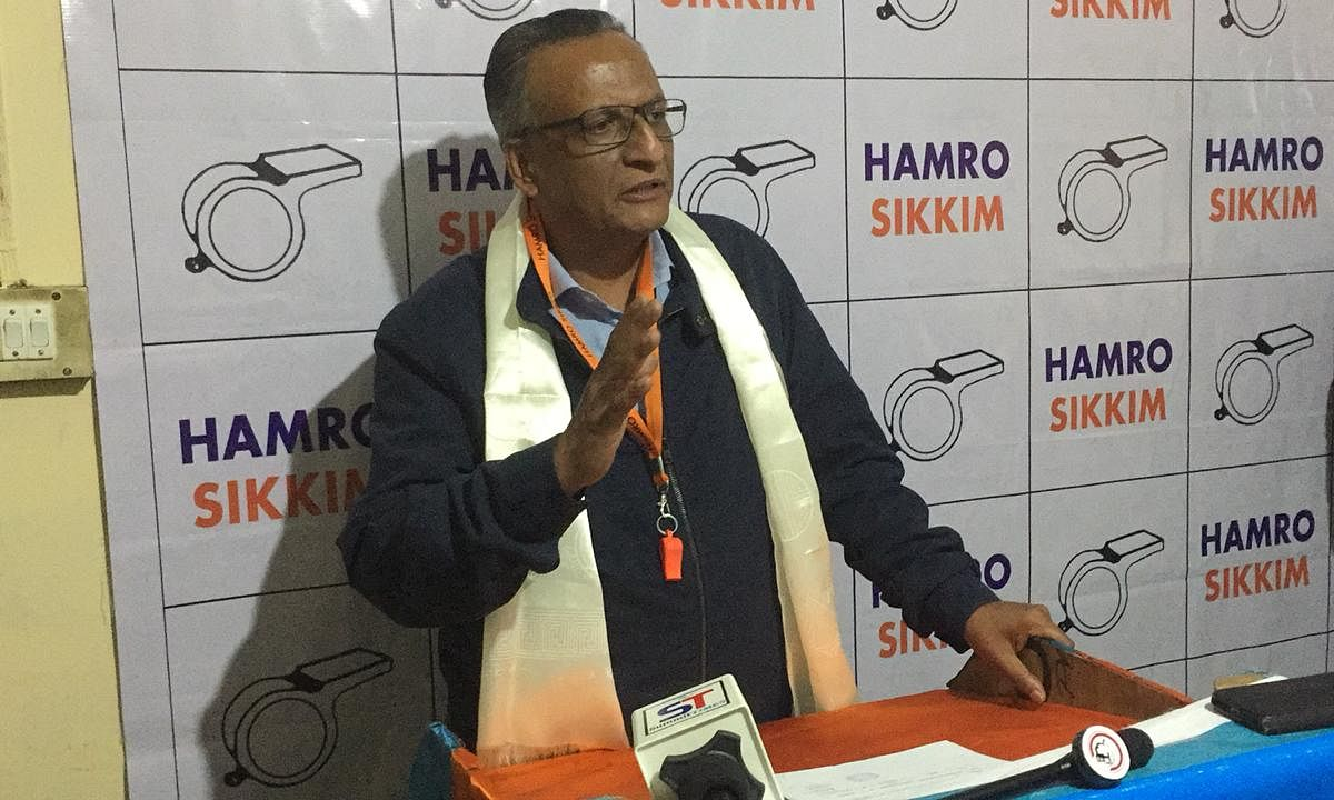 Hamro Sikkim names Biraj Adhikari for LS, Rhenock assembly seats