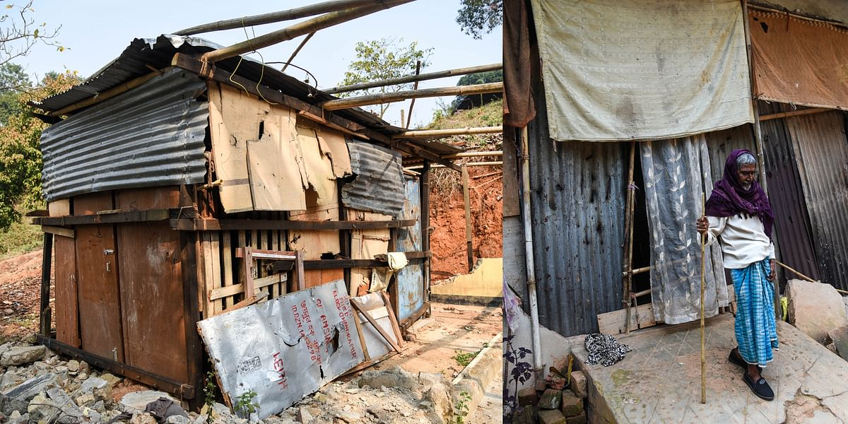 People have started settling down again at Yusuf Nagar in Kamrup district, Assam, as they are unwilling to leave their land