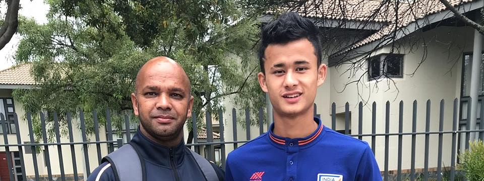 Sikkim teen Evan Thapa in India U-15 football team