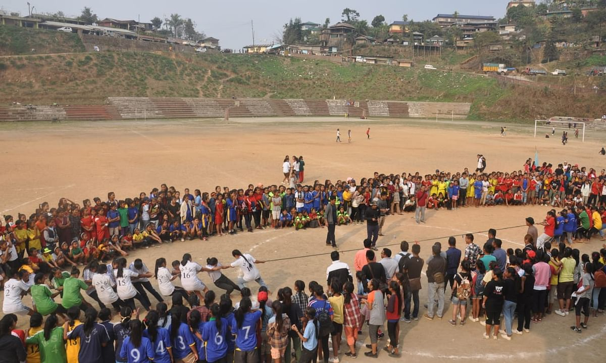 Nagaland: First 'Girl Child Olympics' held in Mon district