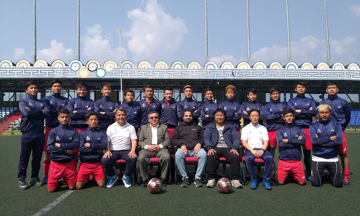 Sikkim soccer team gears up for final round of Santosh Trophy