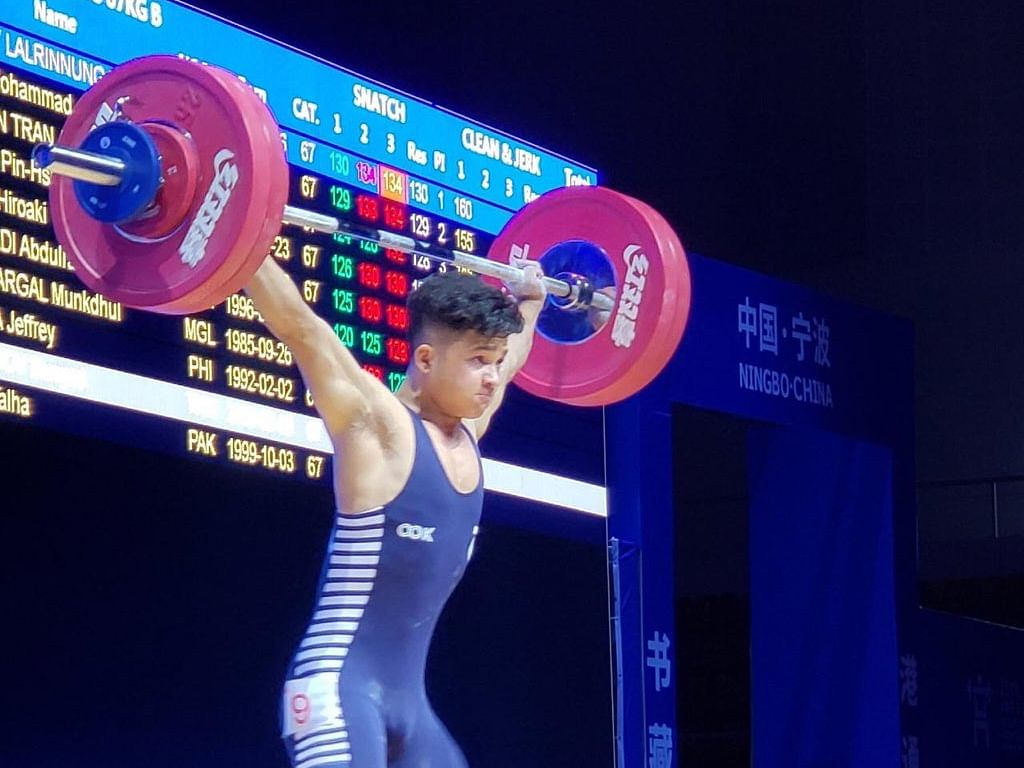 Mizo weightlifter Jeremy Lalrinnunga smashes youth world record