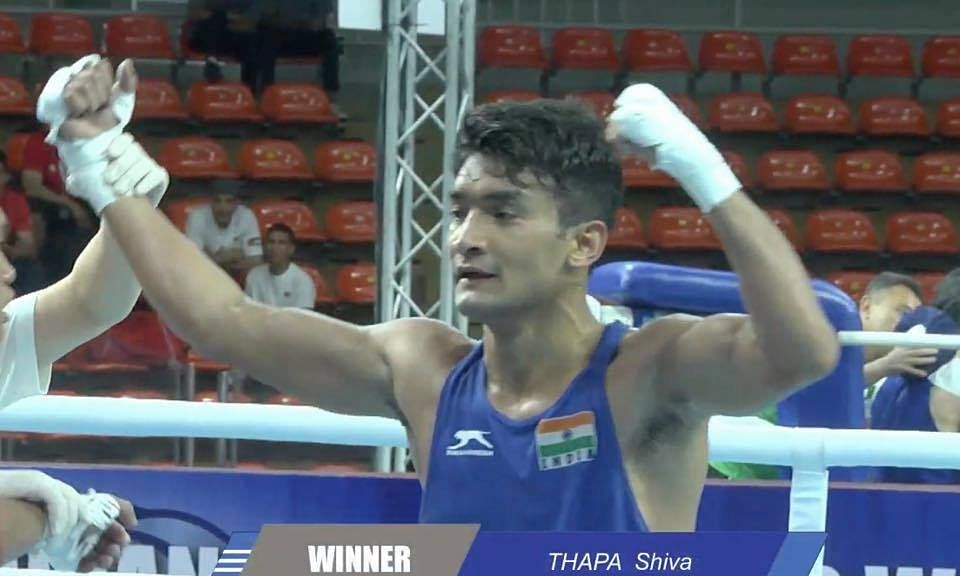 Shiva Thapa makes history in Asian Championships, Sarita in last 4