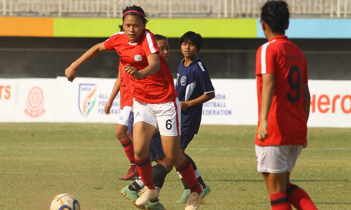 Manipur enter last 8 of junior girls' football championship